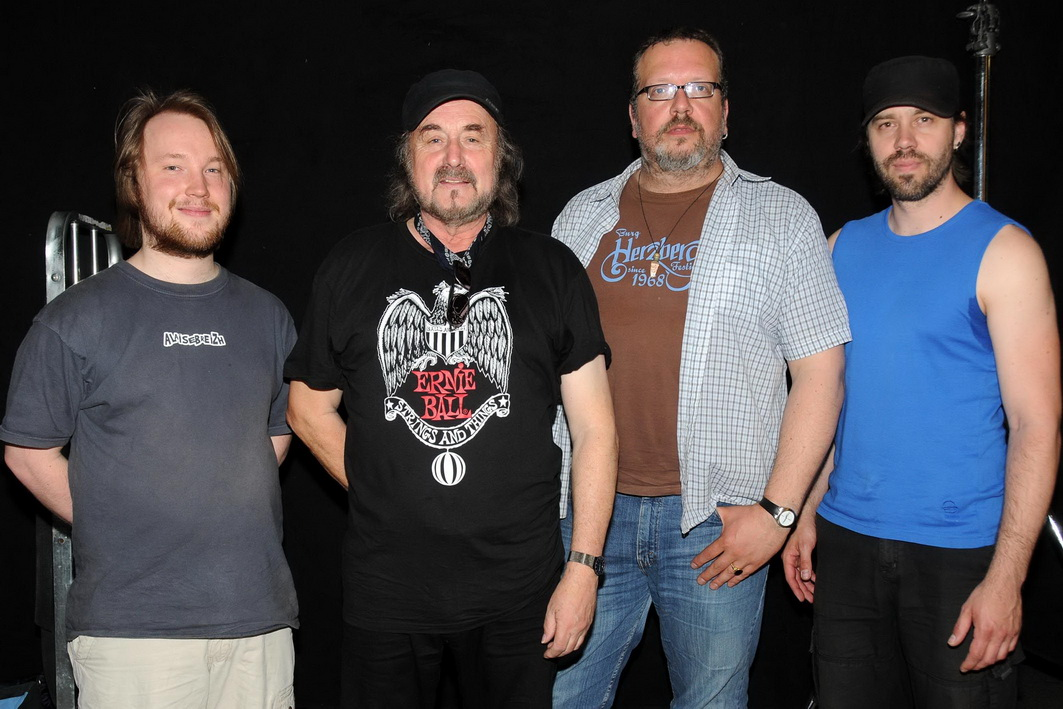 Promoshot 1 Miller Anderson Band by Hagar Lotte Geyer